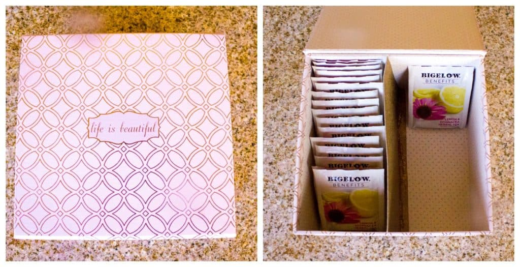 DIY Tea Box