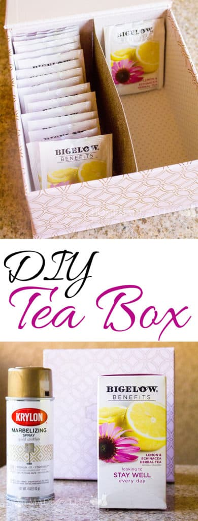 DIY Tea Box | homemadeforelle.com