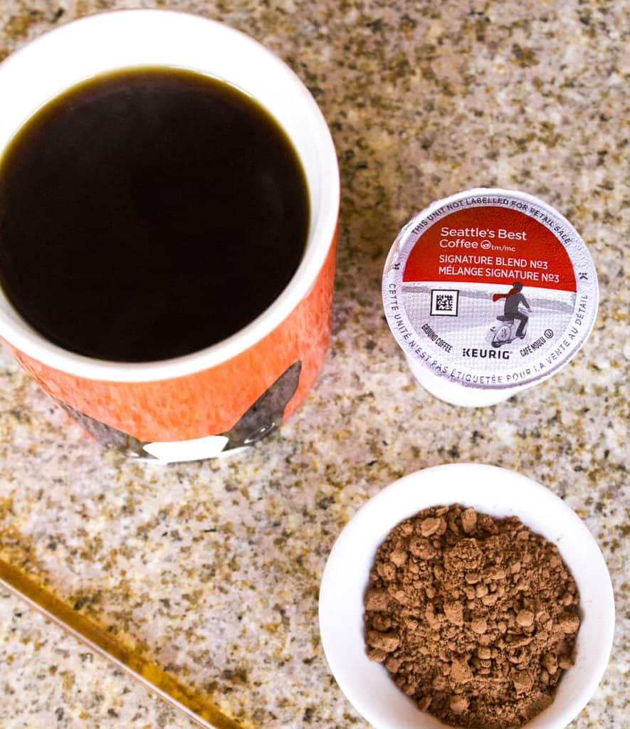 Clean Eating Iced Coffee Mocha   homemadeforelle.com