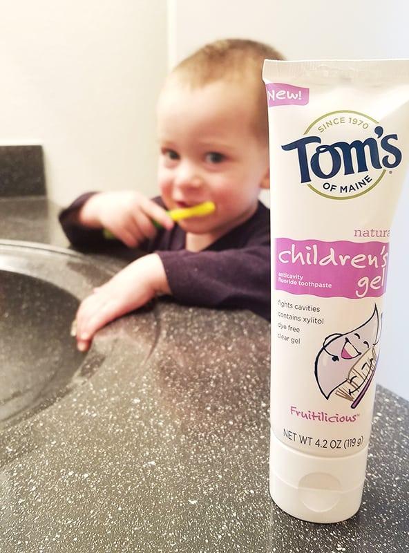 Tom's of Maine Children's Gel | homemadeforelle.com
