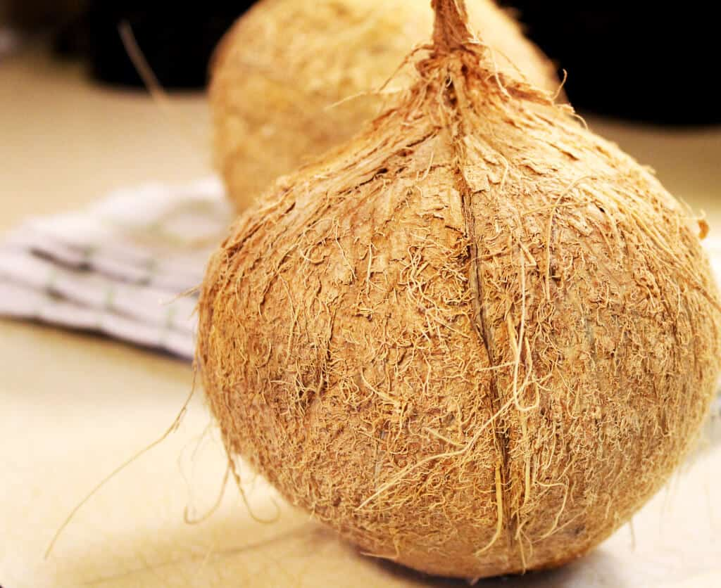 What to do with a Coconut