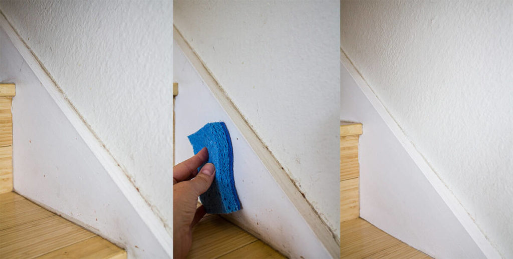 The Easiest Way To Clean Walls And Baseboards Homemade