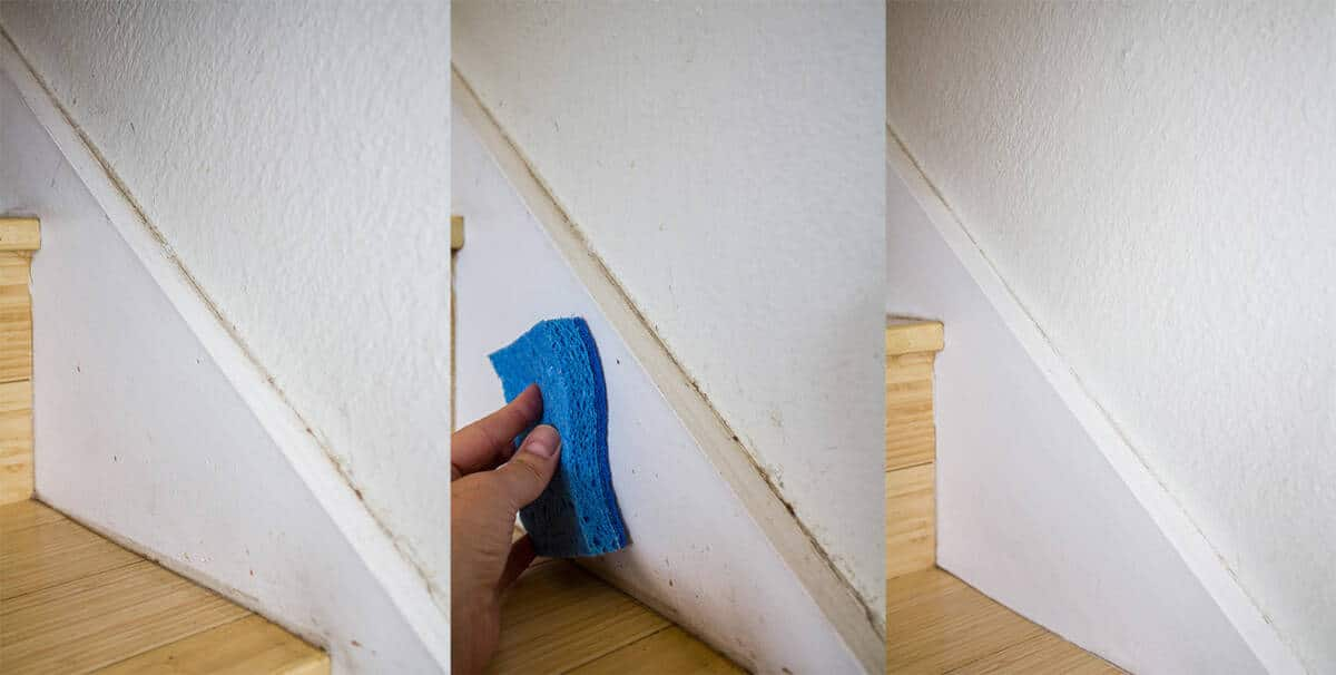 The Easiest Way To Clean Walls And Baseboards Homemade For Elle