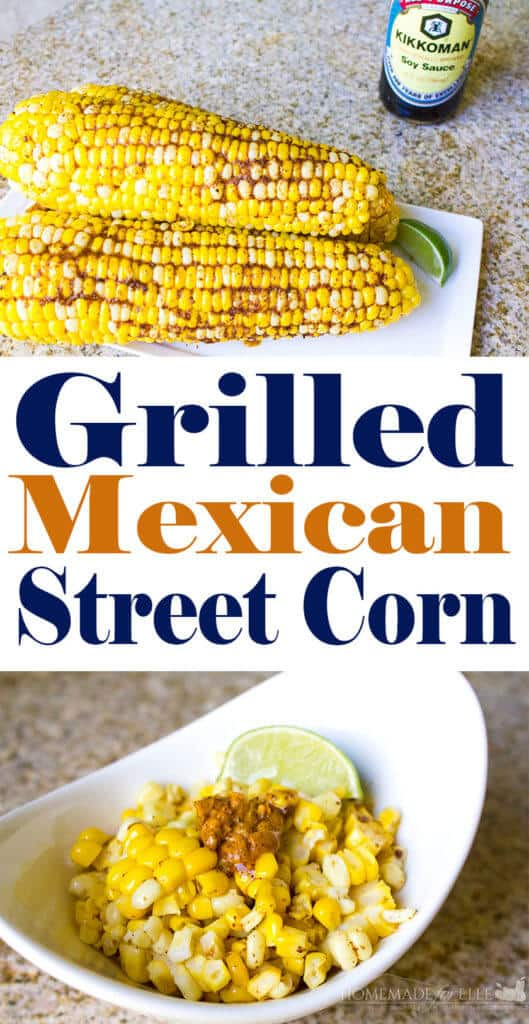 Grilled Mexican Corn Cob Recipe | Homemadeforelle.com