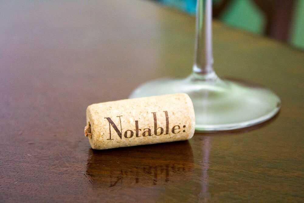 Notable Chardonnay | homemadeforelle.com