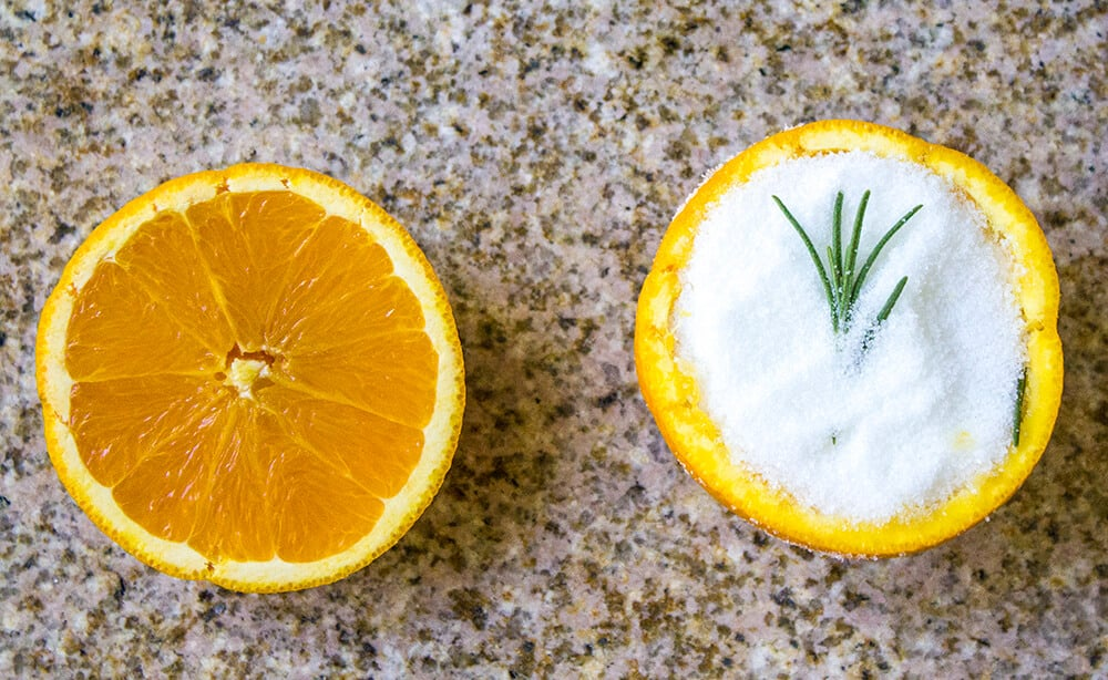 Orange Citrus Rind Air Fresheners | homemadeforelle.com