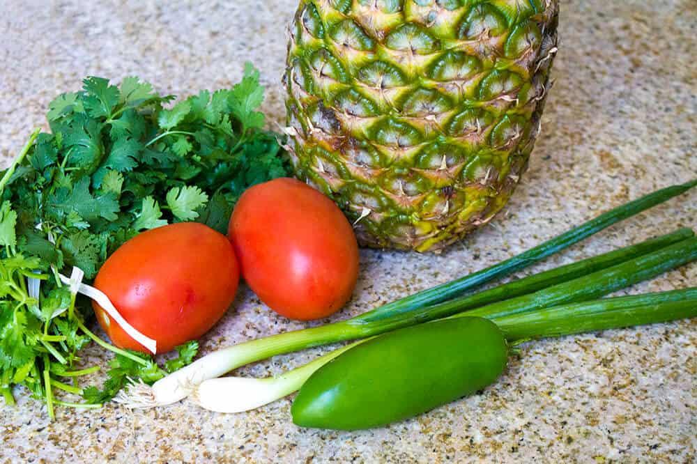 Fresh Pineapple and Cilantro Salsa   homemadeforelle.com