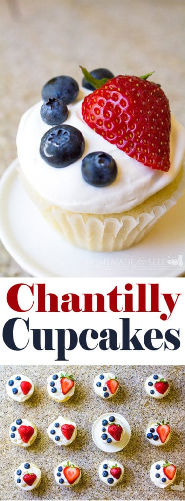 Homemade Chantilly Cupcakes with a Homemade Mascarpone Cheese Frosting | homemadeforelle.com