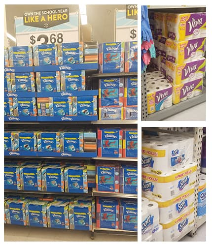 Stock up on Essentials at Walmart to earn Double Box Tops!