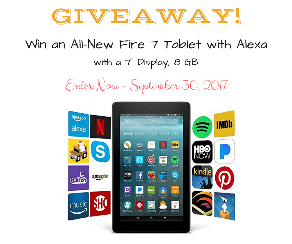 Amazon Kindle 7 Tablet Giveaway