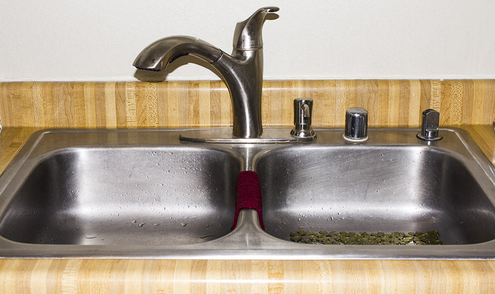 How to Clean Garbage Disposal | homemadeforelle.com
