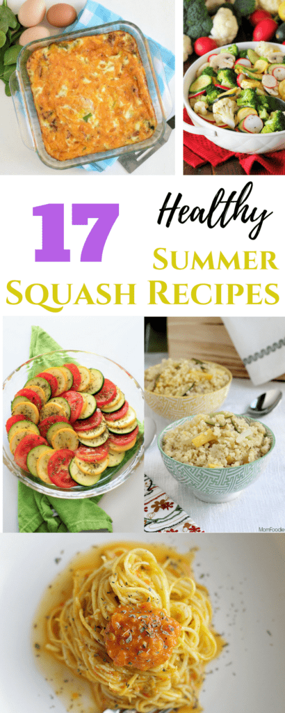 Healthy Summer Squash Recipes | homemadeforelle.com