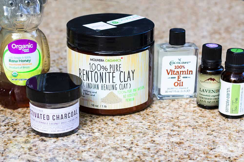 DIY Activated Charcoal Face Mask