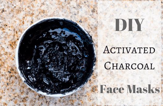 DIY Activated Charcoal Face Mask - Homemade for Elle