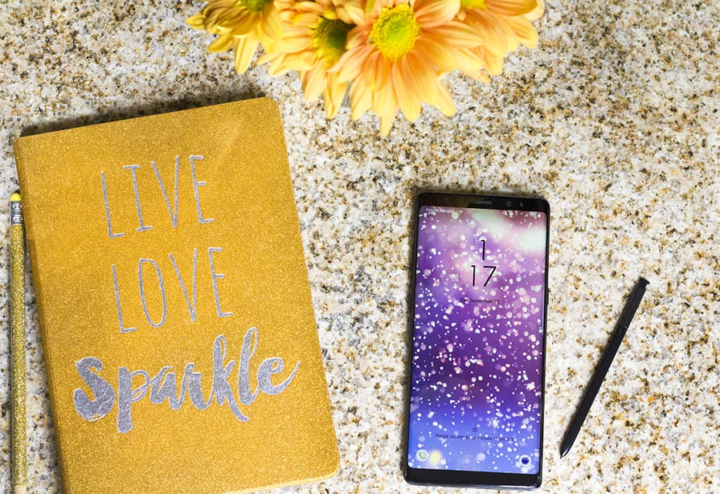 9 Steps to Become an Organized Parent with the Samsung Galaxy Note8 | homemadeforelle.com