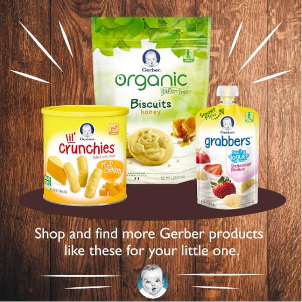 Gerber's National Baby Photo Search Contest