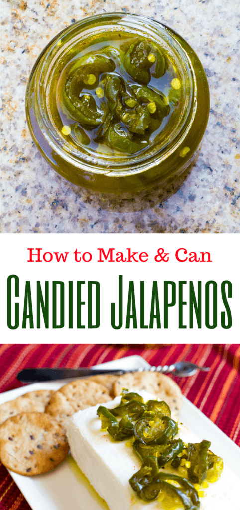 How to Make and Can a Candied Jalapenos Recipe | homemadeforelle.com