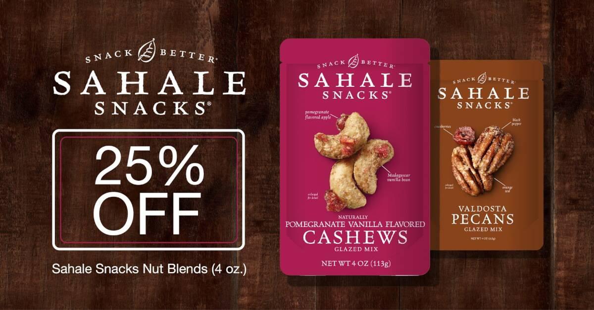 25% off Any Sahale Snacks Nut Blend