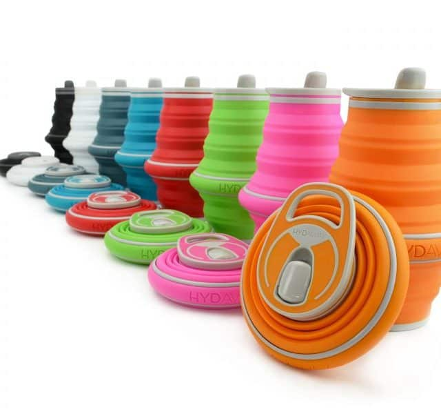 Hydaway Collapsible Bottles for Travelling