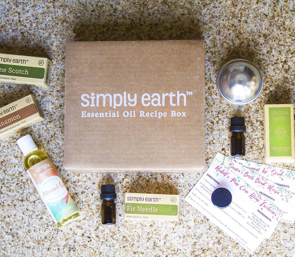 Simply Earth   Essential Oils Subscription Box