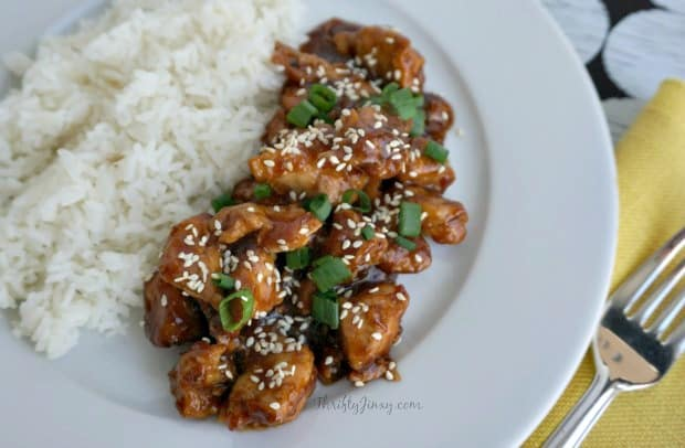 Clean Eating Instant Pot Honey Sesame Chicken