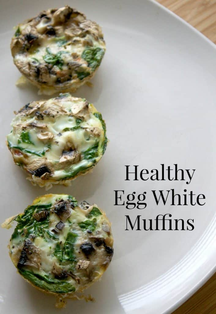 Healthy Egg White Muffins