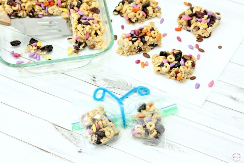 Healthy Honey Nut and Oatmeal Breakfast Bar