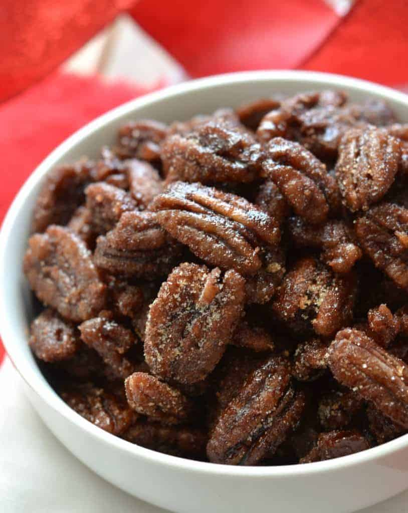 Clean Eating Instant Pot Candied Nuts