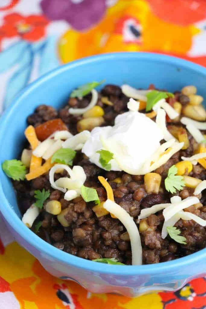 Clean Eating Instant Pot Vegetarian Chili