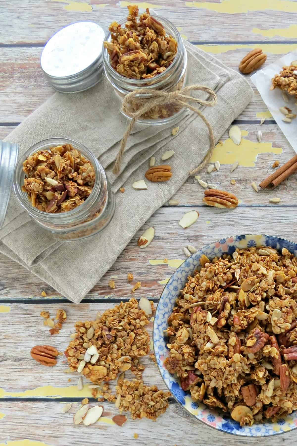 Nutty Homemade Granola Recipe