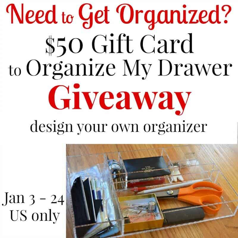 Giveaway | Organize your Drawers