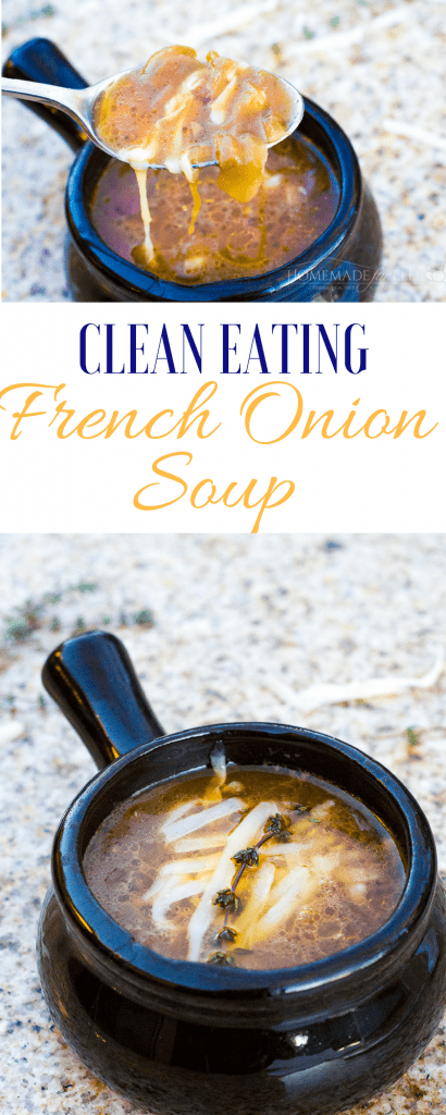 Clean Eating French Onion Soup   homemadeforelle.com