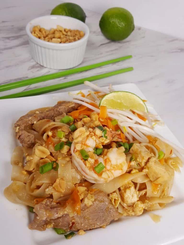 Clean Eating Instant Pot Pad Thai