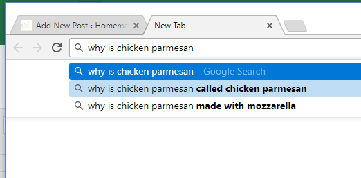 Why is Chicken Parmesan called Chicken Parmesan   homemadeforelle.com