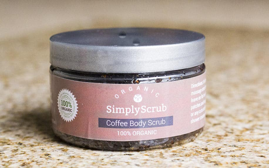 Simply Scrub Organic Body Scrubs | homemadeforelle.com