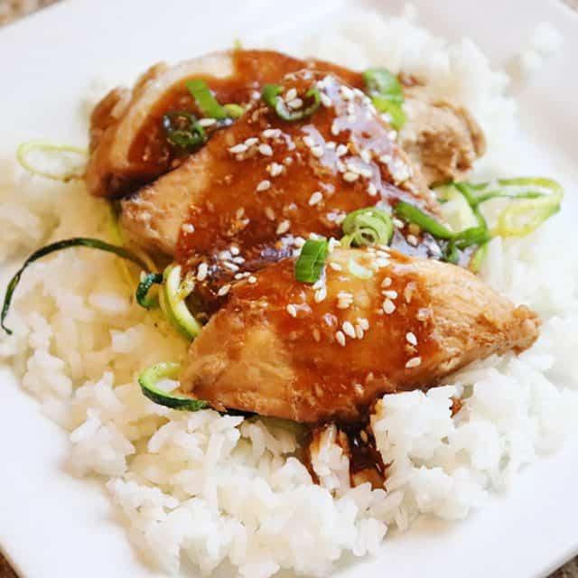 Instant Pot Honey Soy Pork Tenderloin {a 30 minute meal!}