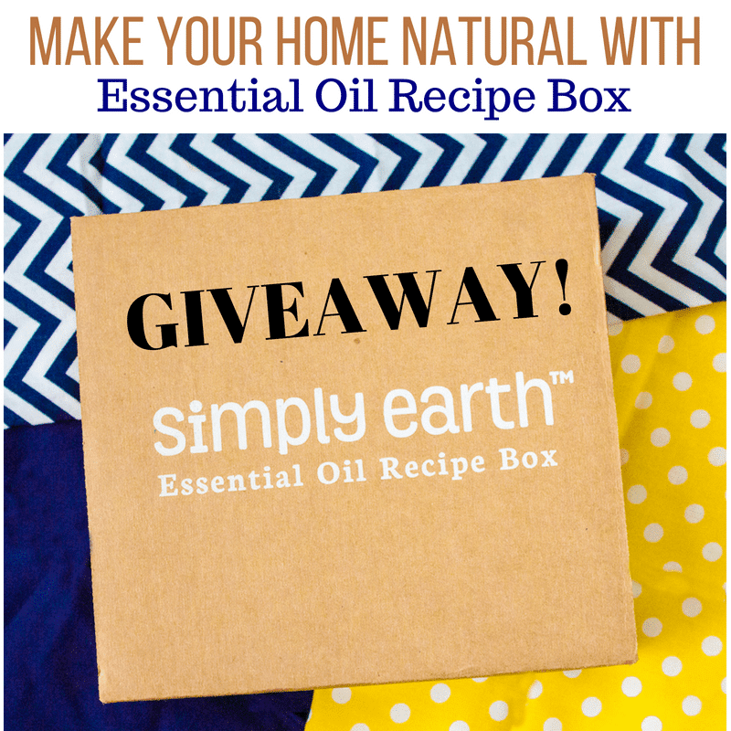 Make your Home Natural – Essential Oil Box Giveaway