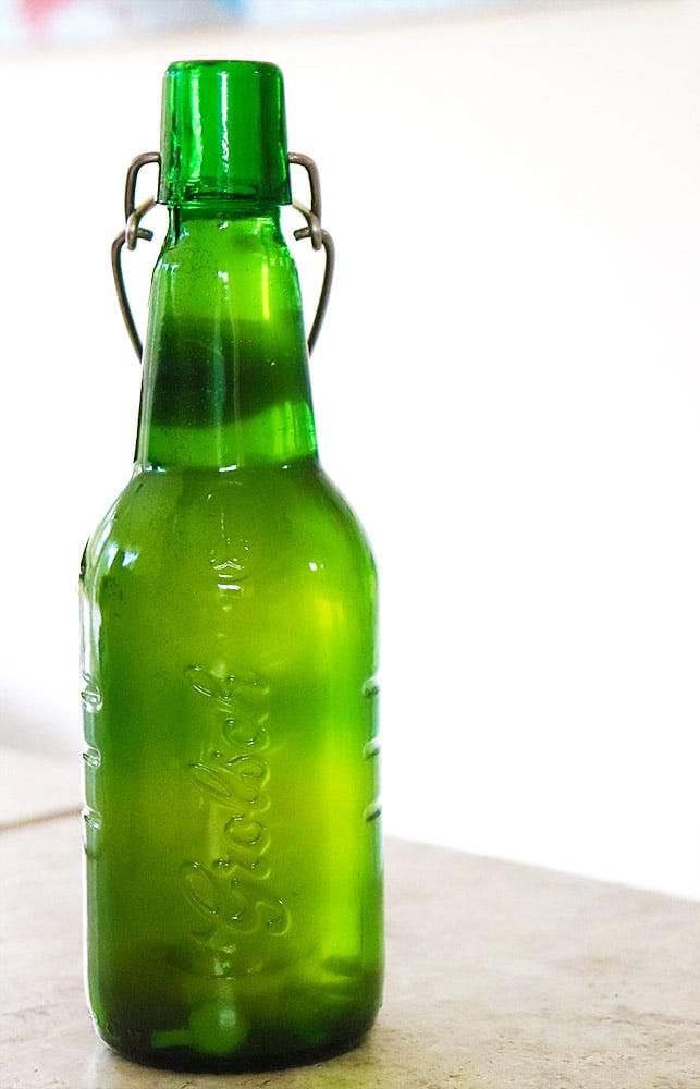 how to bottle ginger kombucha