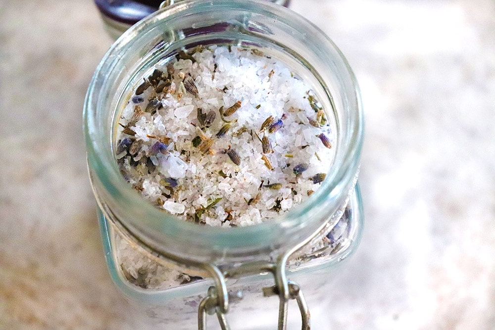 Spa-Day Lavender Petal Bath Salts