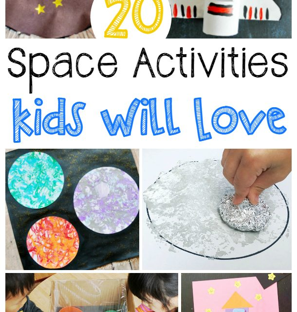 20 Space Activities for Kids