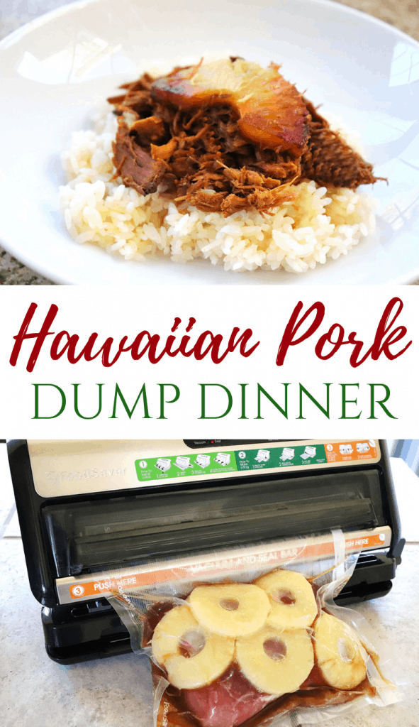 Hawaiian Pork Dump Dinner | Homemadeforelle.com