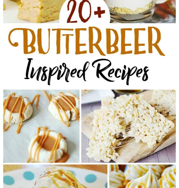 22 Butterbeer Recipes {For Witches & Wizards!}