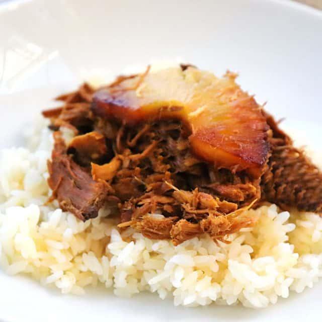 Hawaiian Pork Dump Dinner {Only 4 Ingredients!}