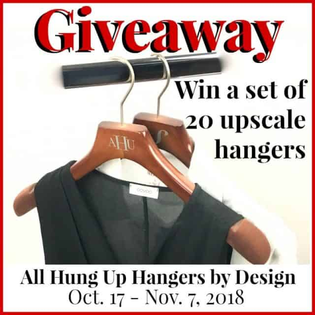 All Hung Hanger Giveaway
