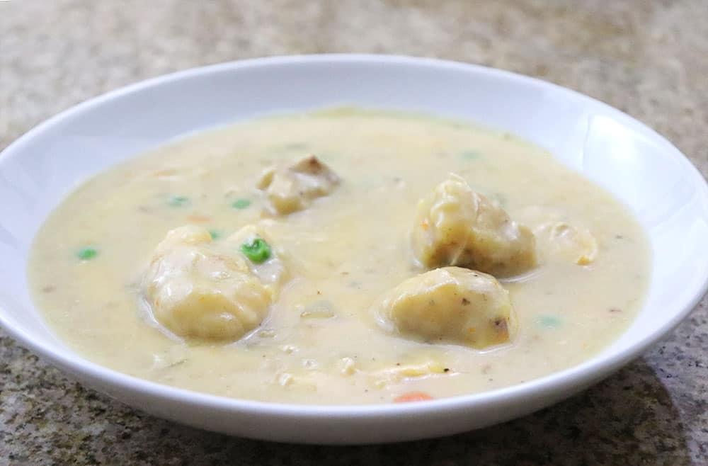 Homemade Instant Pot Chicken and Dumplings