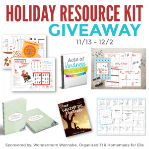 Holiday Resource Kit Giveaway