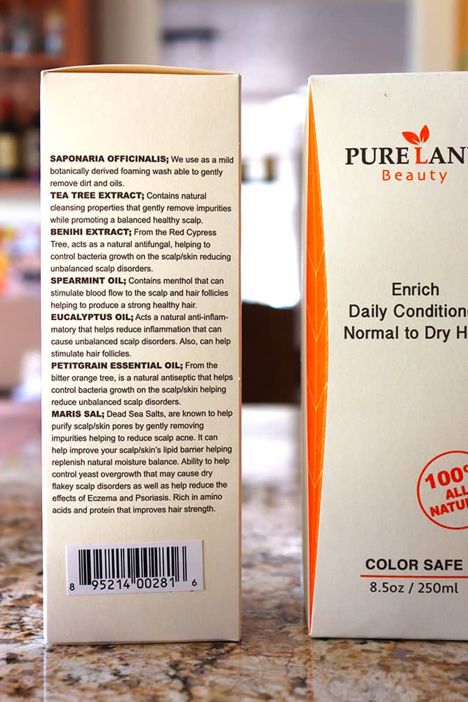 Plant Based Hair Products With Pureland Beauty ⋆ Homemade
