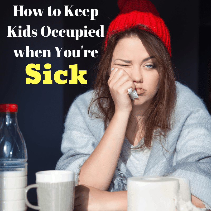 How To Keep Kids Occupied When You Re Sick Homemade For Elle