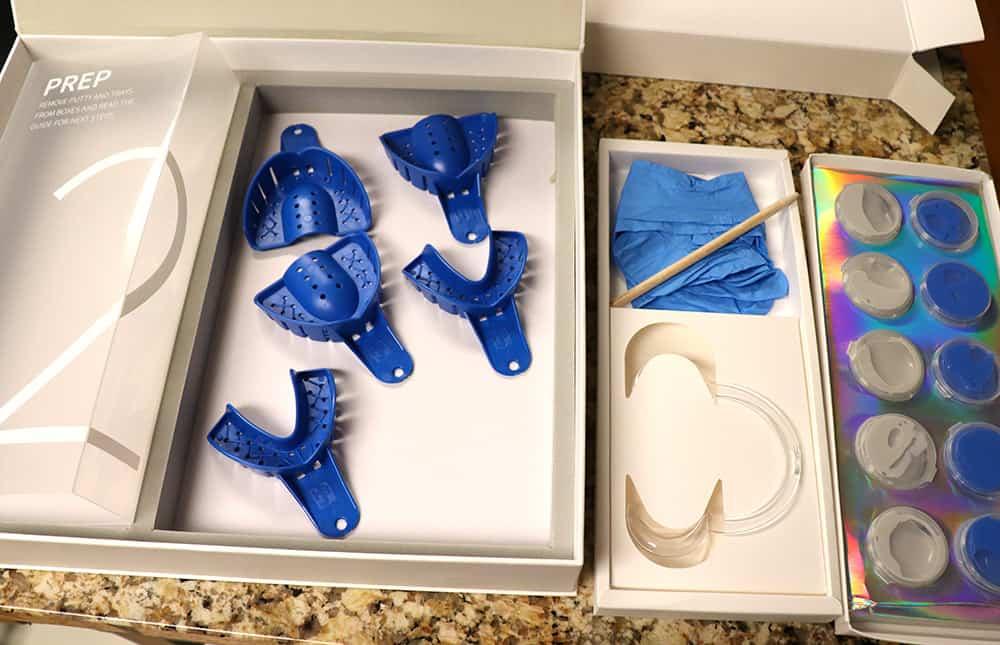Candid Co Impression Kit at home aligner impression kit.
