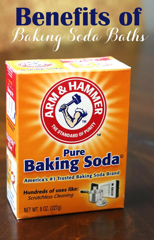 Baking Soda Baths - Benefits and Four Recipes